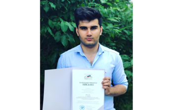 Afghanistan Student Becomes First Enrollee in 2019 Admission Campaign