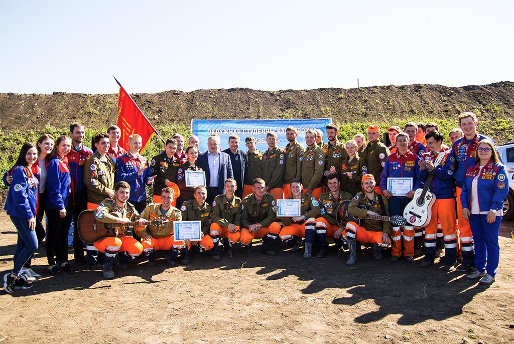 Стройотряд ТУСУРа участвует в строительстве первой в Сибири высокоскоростной автомагистрали