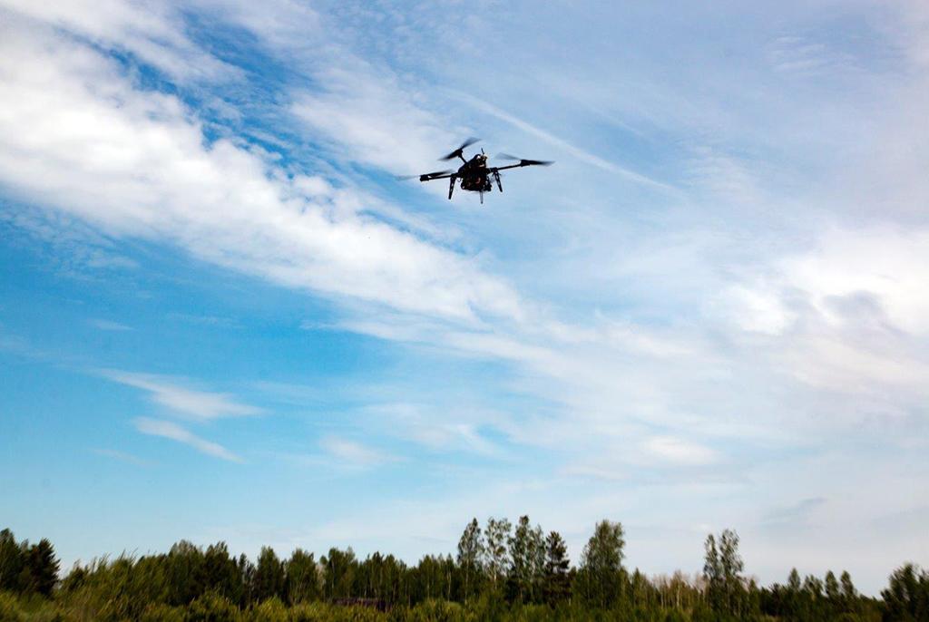В ТУСУРе разрабатывают систему для поиска пожароопасных лесных участков