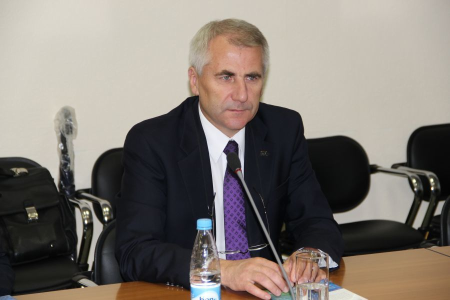 TUSUR visited by the Head of the EU Delegation in Russia