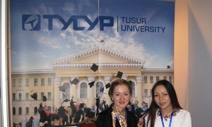 TUSUR participated in the International Education Exhibition in Mongolia