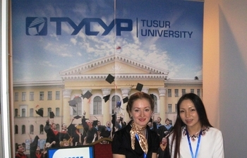 TUSUR participated inthe International Education Exhibition inMongolia