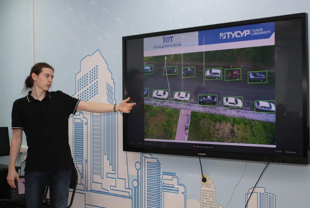Проект ТУСУРа вышел в финал конкурса IoT Академии Samsung