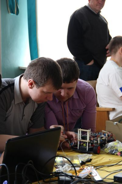 TUSUR hosted the Russian qualification of The Freescale Cup