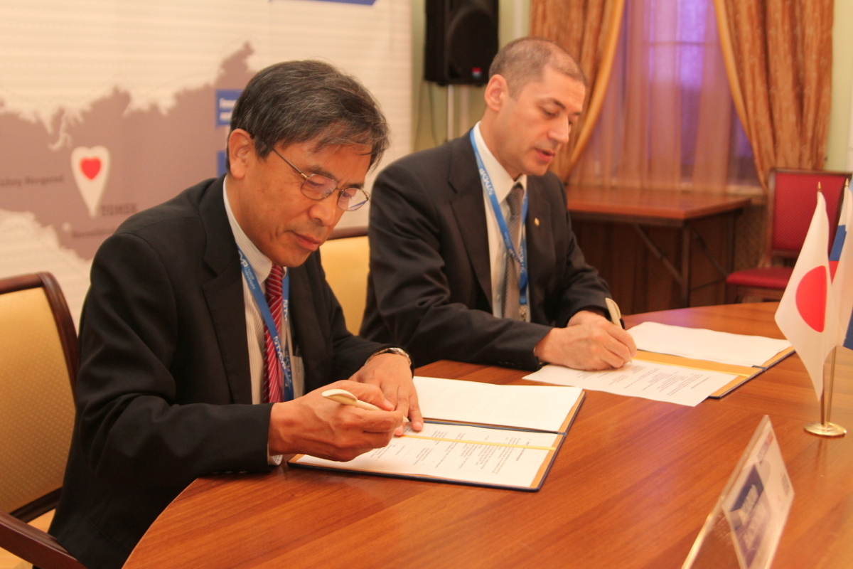 The III University Technology Dialogue was culminated with the signing of agreement on Dual Master Degree Program between TUSUR and Ritsumeikan Universities