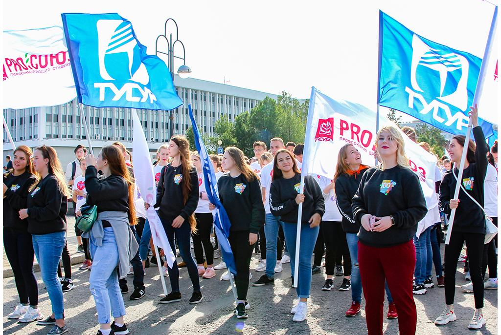 День томича: ТУСУР принял участие в главном празднике города