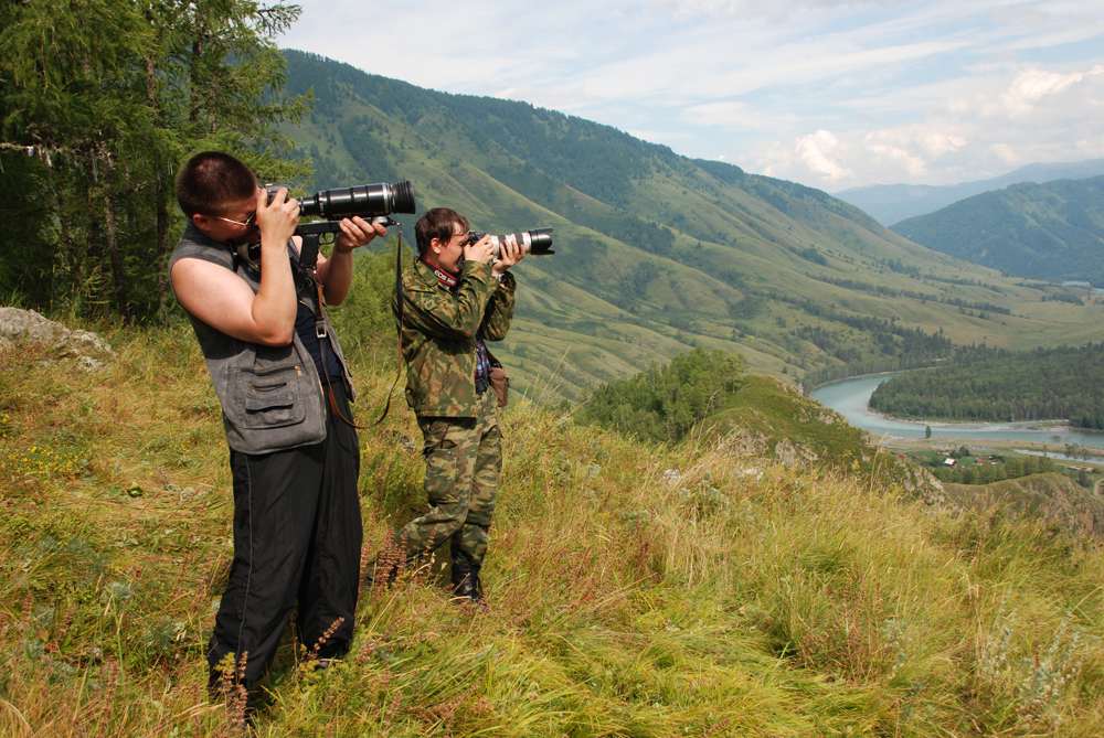 TUSUR faculty and students took part in a photo expedition having visited Akkemskoye and Kucherlinskoye lakes