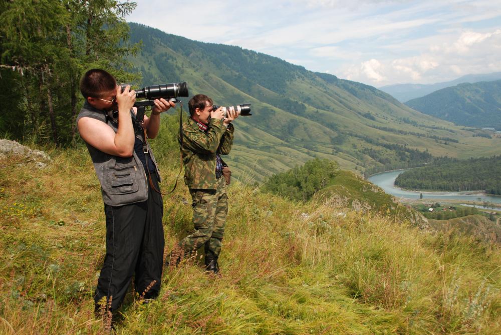 TUSUR faculty and students took part ina photo expedition having visited Akkemskoye andKucherlinskoye lakes