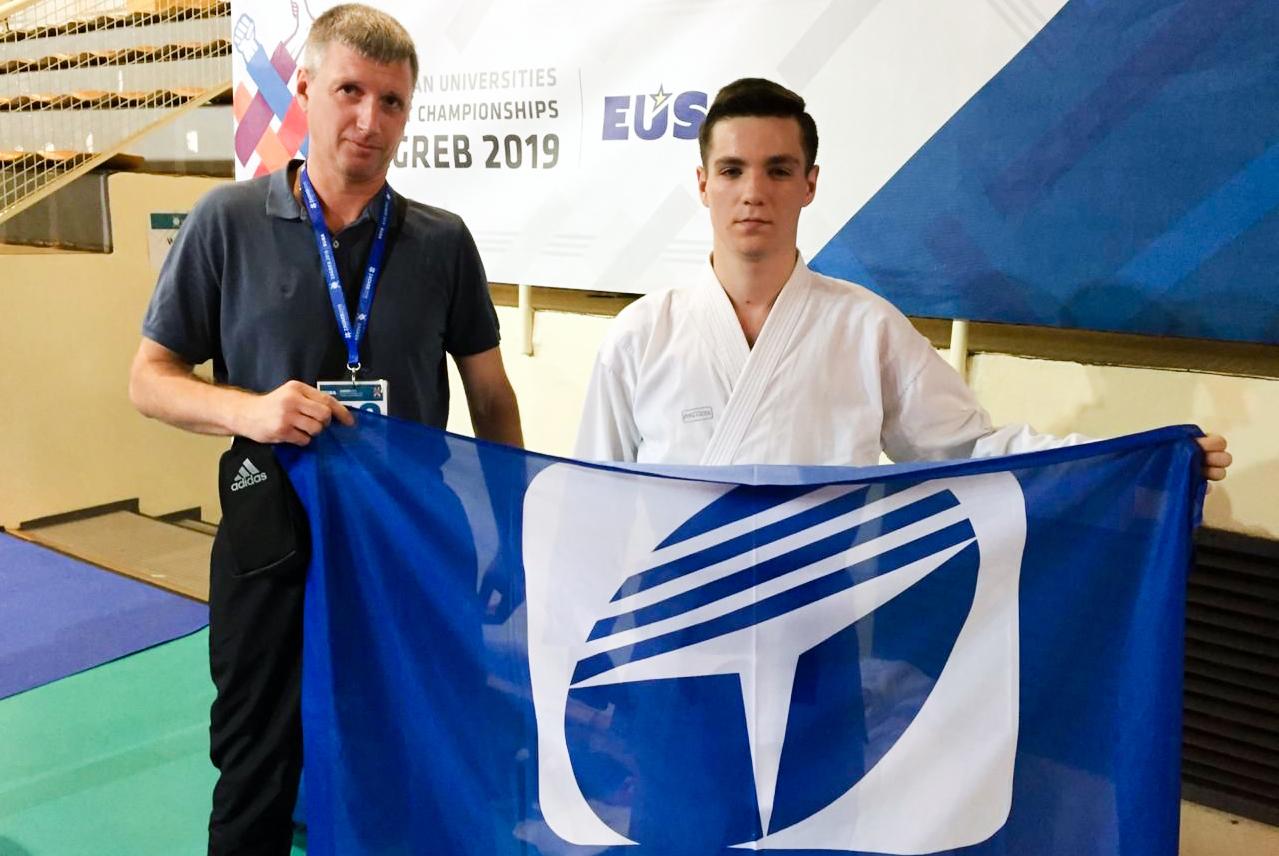 Студент ТУСУРа – в топ-10 спортсменов чемпионата Европы по каратэ