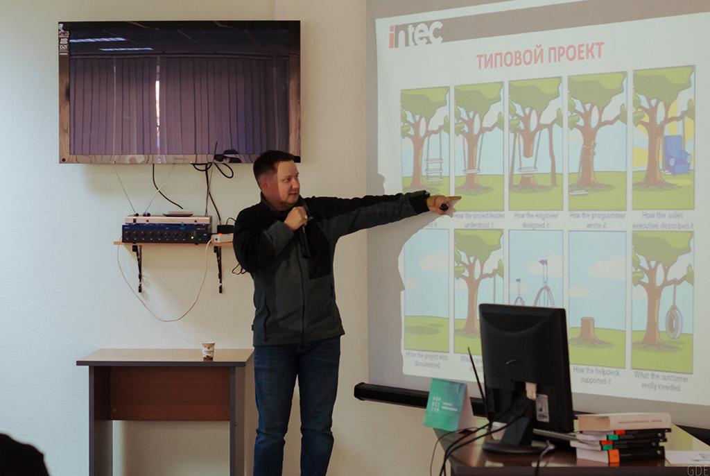 В Точке кипения ТУСУРа прошёл семинар по управлению приборостроительными проектами