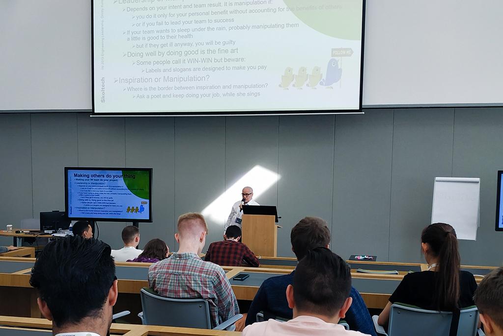 TUSUR/Skoltech Network Master Program Launched