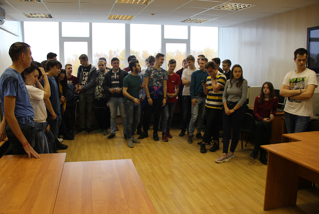 Кафедра РТС посвятила первокурсников в студенты в формате квеста