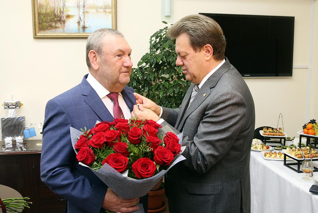Президент ТУСУРа награждён медалью за вклад в развитие вузовского комплекса