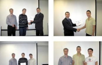 First graduates ofCenter forInternational IT-training ofTUSUR