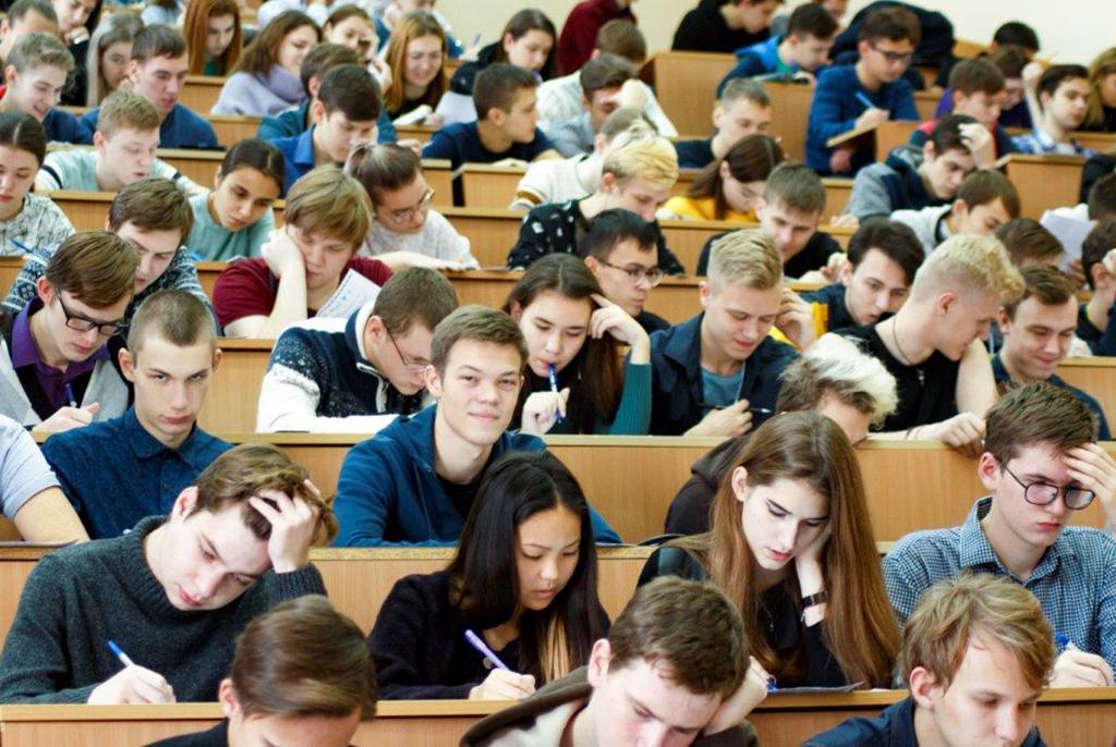 200 участников написали этнографический диктант в ТУСУРе