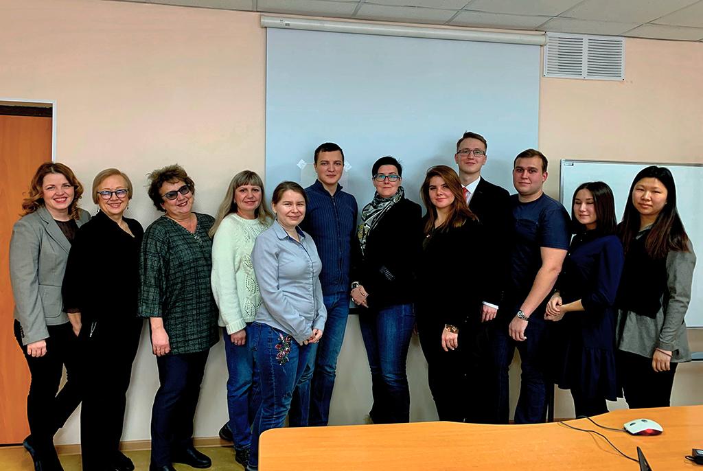 В центре Lingva TUSUR состоялся итоговый экзамен по программе профессиональной переподготовки