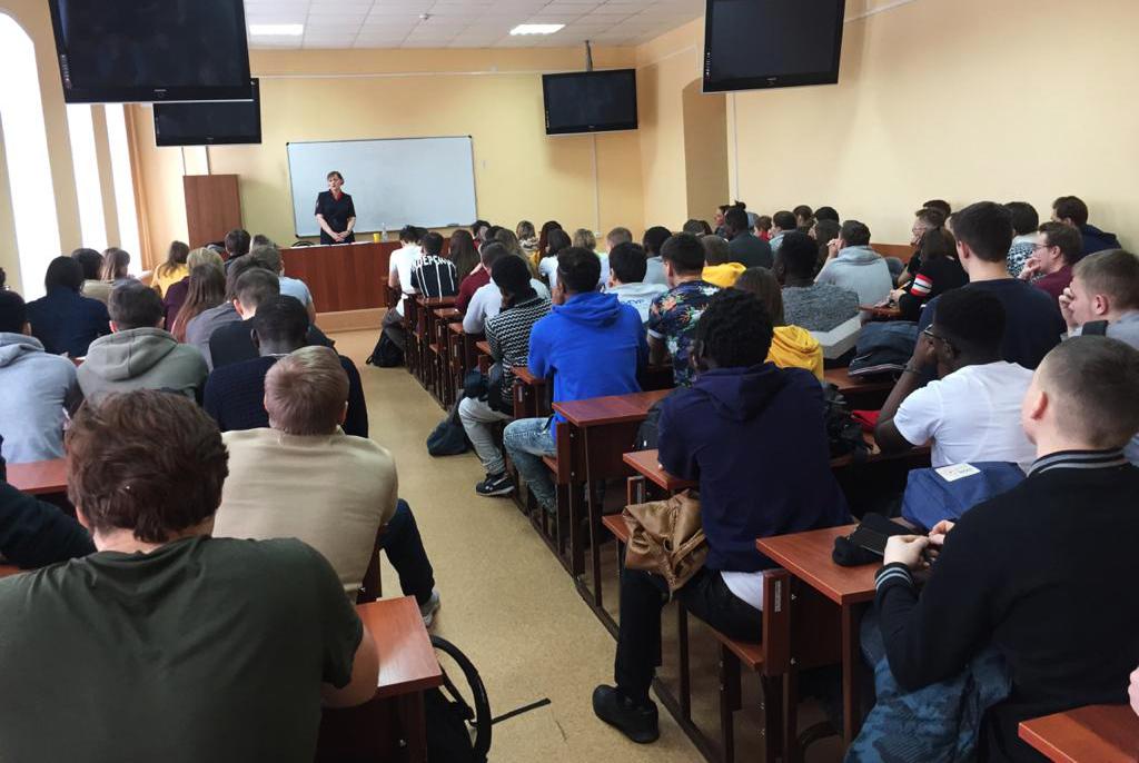 Об изменениях в миграционном законодательстве рассказали на встрече студентам ТУСУРа