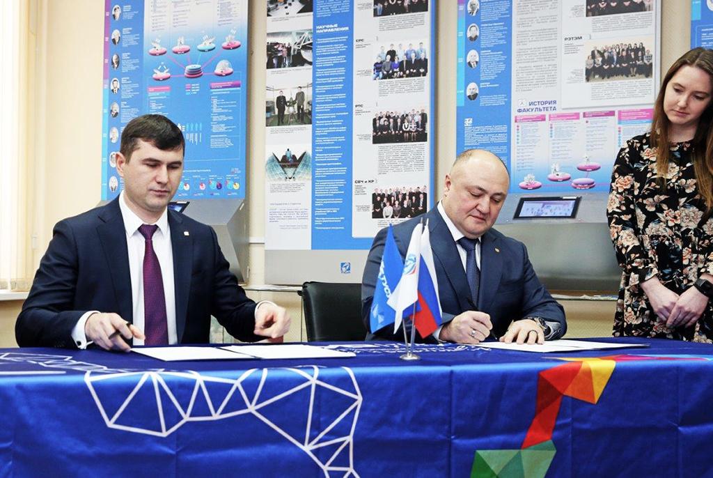 ТУСУР подписал соглашение с Томским районом о создании школы «Интеграция» при участии вуза
