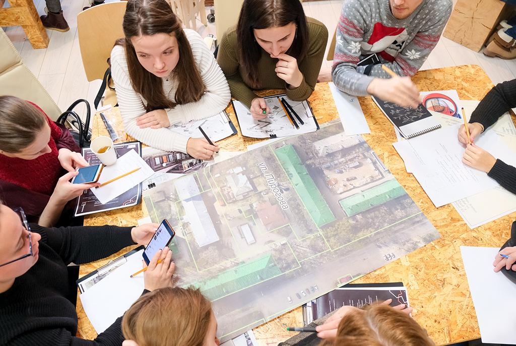 Участники воркшопа в ТУСУРе разработают решения по благоустройству городской среды