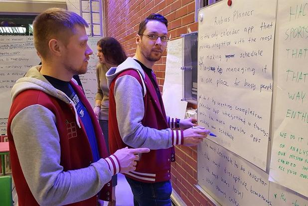 Выпускники ТУСУРа Сергей Дорофеев и Сергей Кошевой, победители Startup Tour 2018 года