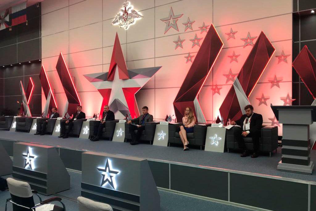 ТУСУР на форуме «Армия - 2020» провел круглый стол по развитию систем связи, ЭКБ и подготовки кадров для ОПК