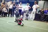 Российские команды смогут принять участие в единственном в этом году международном турнире RoboCup