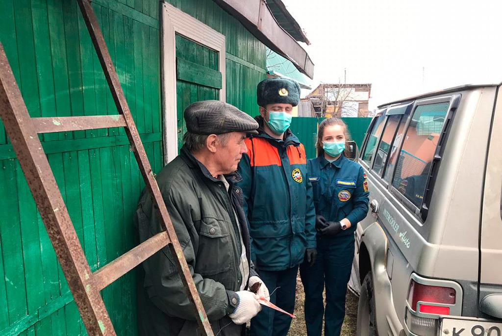 Студенка ТУСУРа получила медаль МЧС за противопожарное волонтёрство