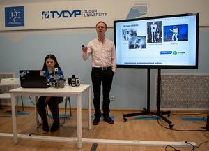 Евгений Шандаров, руководитель лаборатории робототехники и искусственного интеллекта ТУСУРа