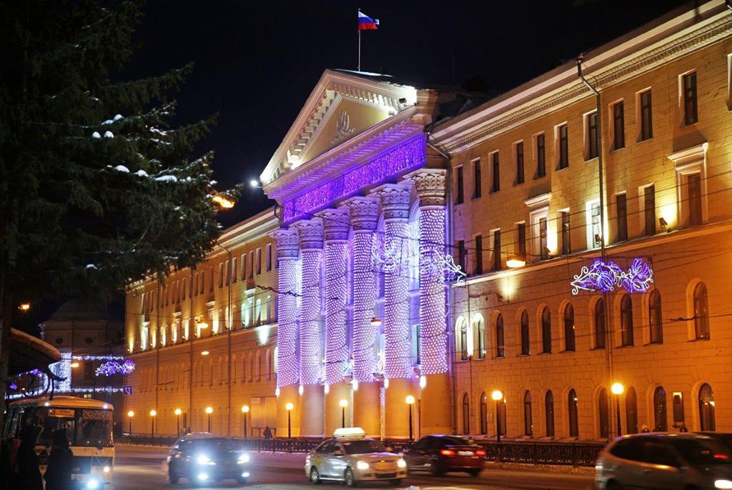 Поздравление ректора с Днём российского студенчества