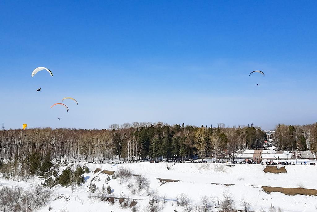 Парапланеристы ТУСУРа – лучшие в Томской области