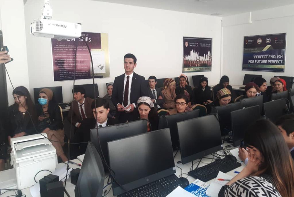 Сотрудники кафедры иностранных языков ТУСУРа провели обучающий семинар для таджикских студентов