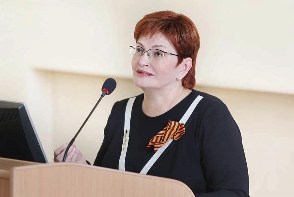 Председатель Законодательной думы Томской области Оксана Витальевна Козловская открыла «Диктант Победы» в ТУСУРе