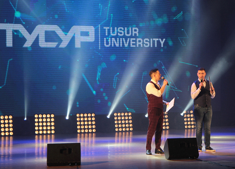 """Student concert """"TUSUR Dancing"""" dedicated to the Radio Day 2021"""