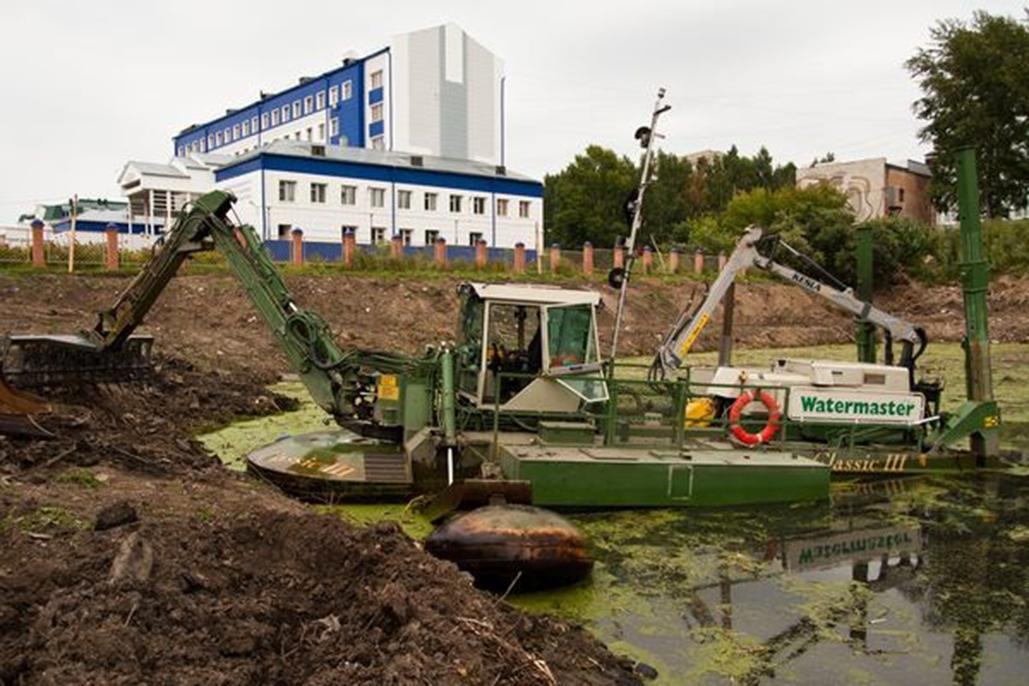 Спасение озера в 2011 году