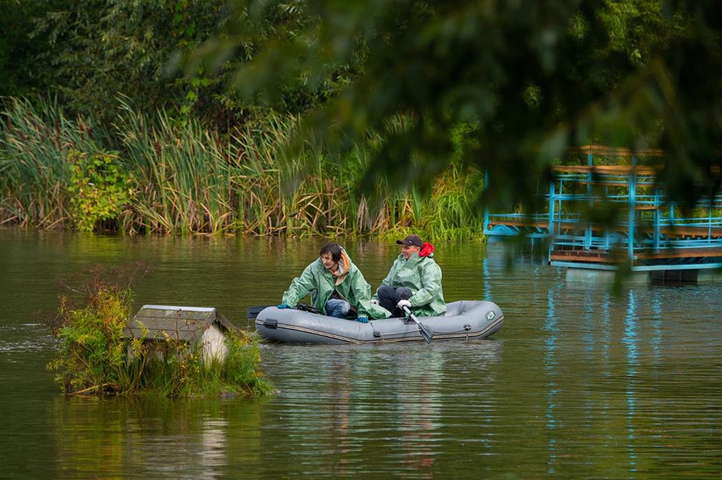 Университетское озеро сегодня