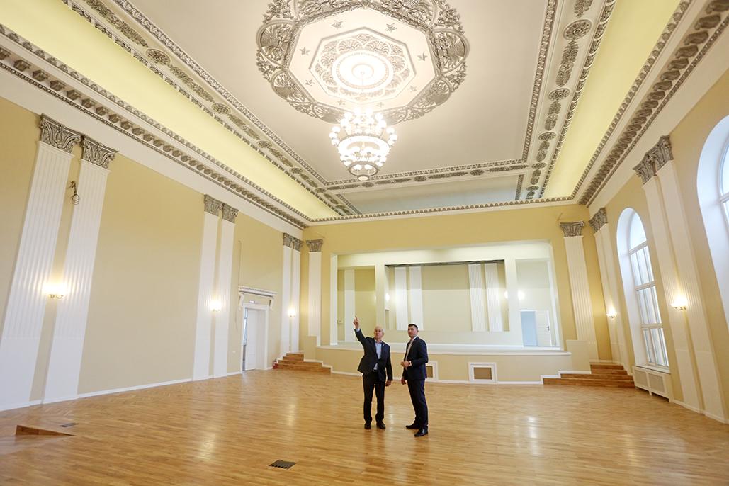 ТУСУР завершил ремонтные работы в главном актовом зале вуза