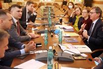 ТУСУР посетили советники по науке и технологиям стран ЕС