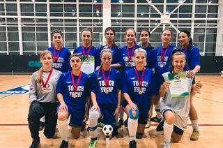 Футболистки ТУСУРа — золотые медалистки чемпионата области