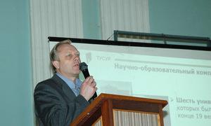 Председатель оргкомитета конференции, проректор ТУСУР по научной работе, доктор технических наук, профессор Н. Г. Ремпе.
