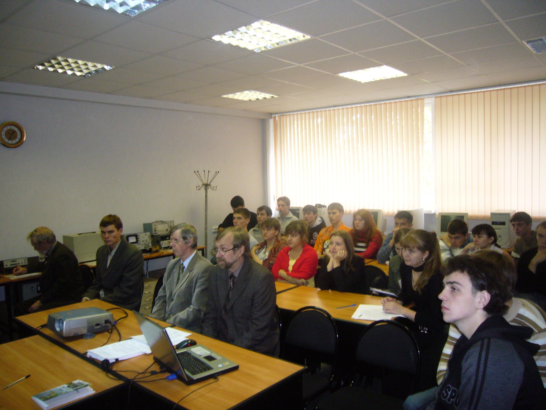 Защита проектов ГПО на кафедре СВЧиКР. 24.09.2007 г.