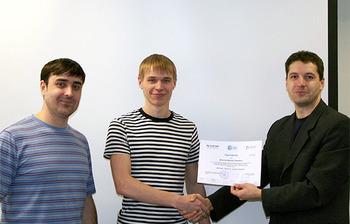 Сертификаты выпускникам вручили вЦентре Международной IT-подготовки ТУСУР