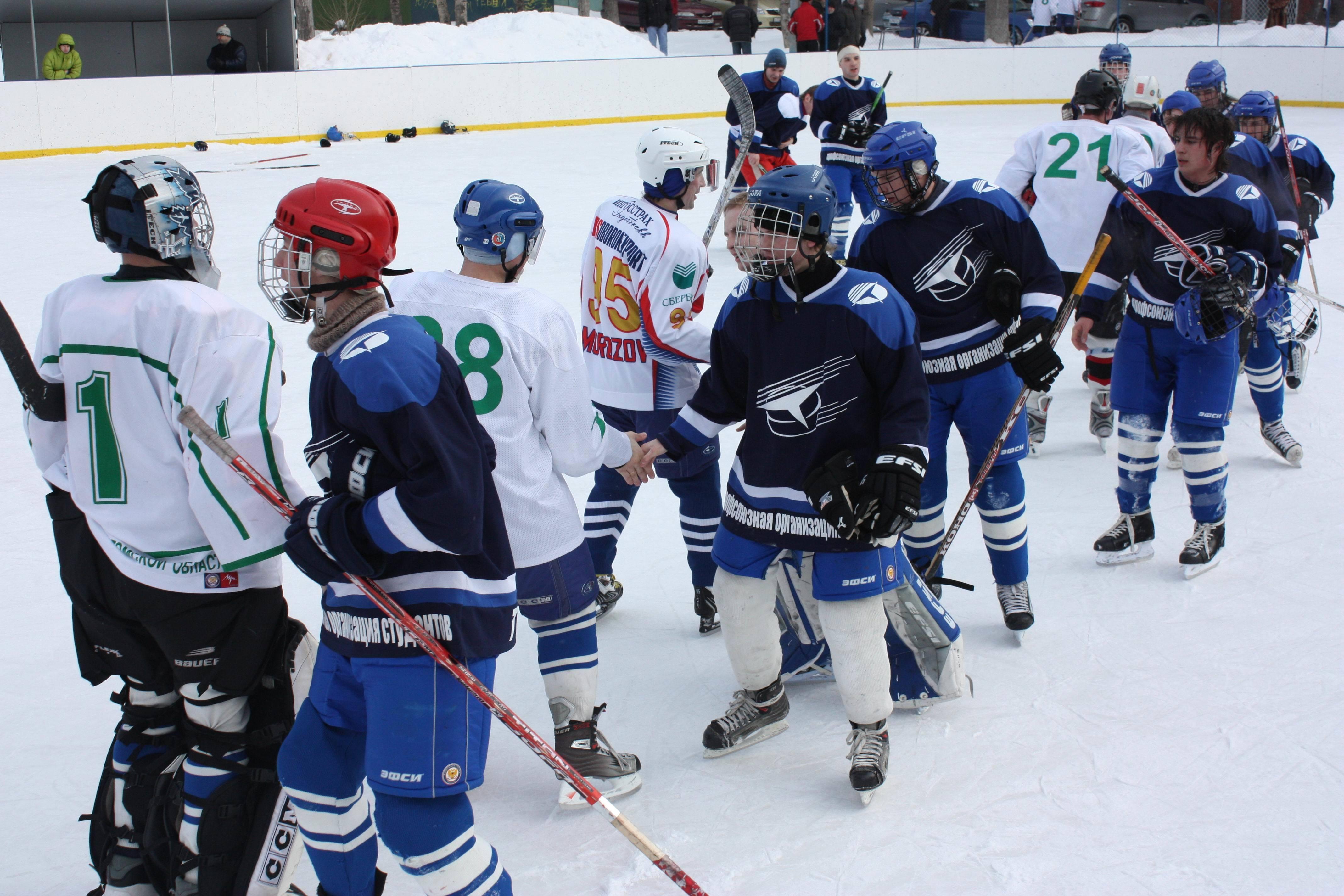 Хоккейная команда ТУСУР стала бронзовым призером Первенства Томской области среди вузов