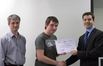 ВЦентре международной IT-подготовки прошло вручение очередного сертификата поитогам прохождения стажировки