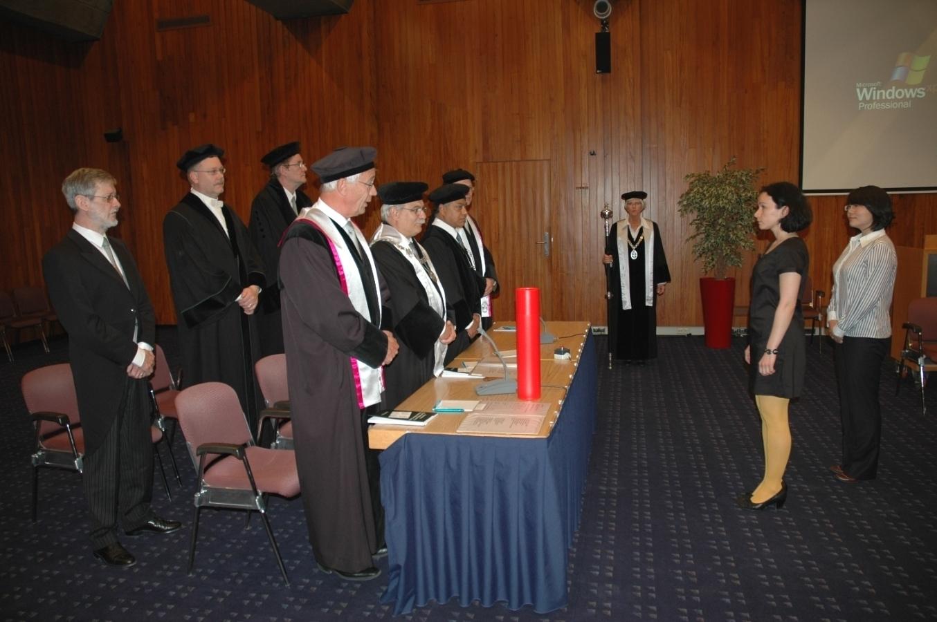 Защита вНидерландах прошла успешно