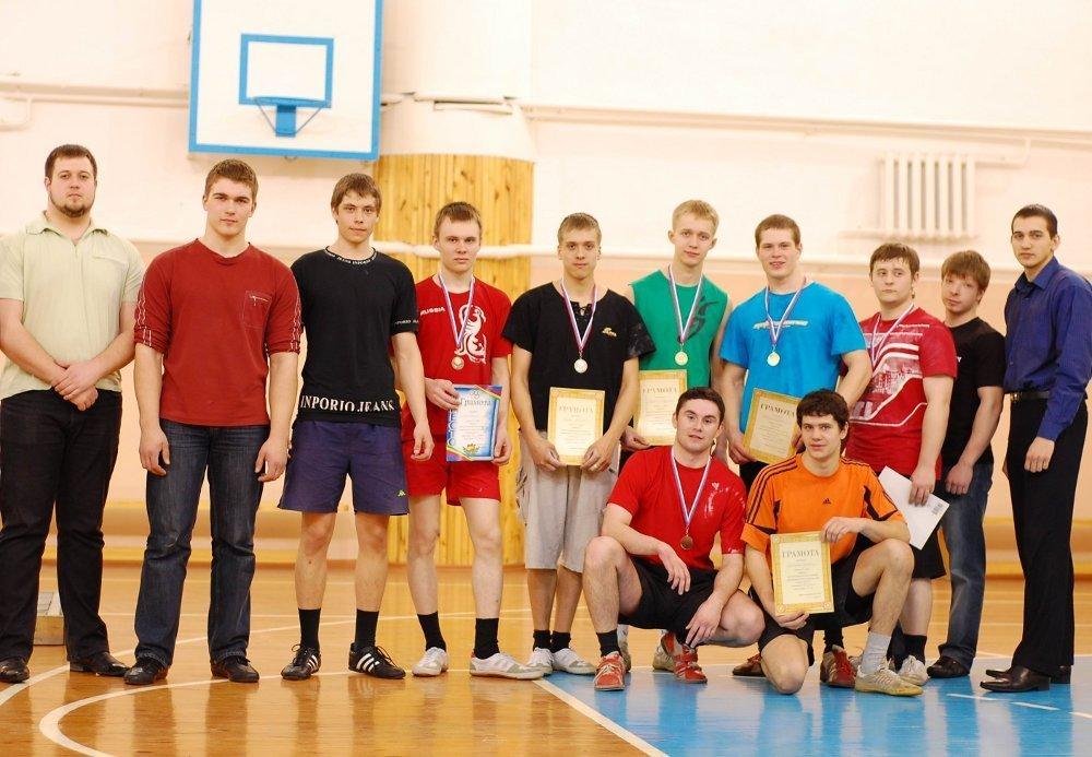 Выявлены призеры первенства ТУСУР погиревому спорту