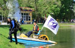 Аквалангисты изтусуровского клуба «Наяда» приняли участие вакции «Чистые водоемы»