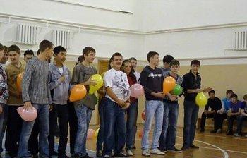 Накафедре СВЧиКР прошло спортивное посвящение первокурсников