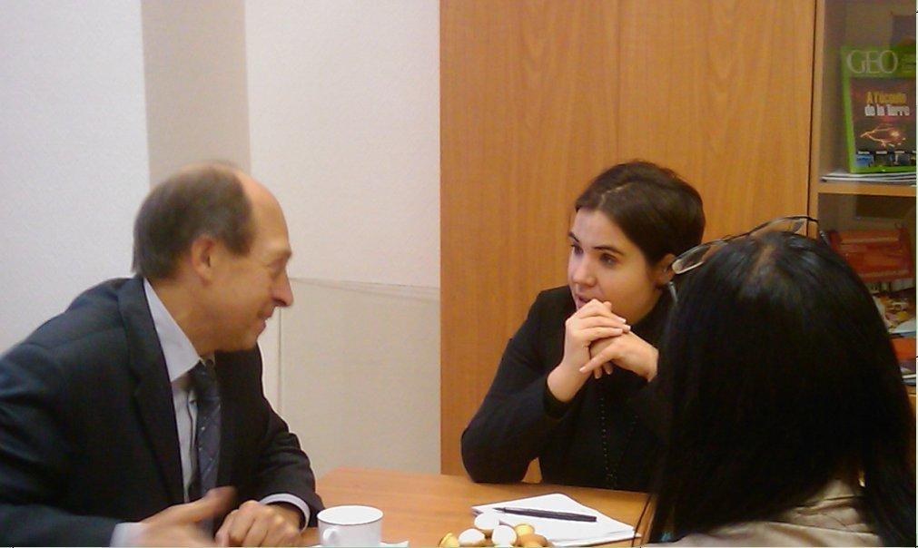 ТУСУР посетила атташе посотрудничеству вобласти французского языка посольства Франции вРФ