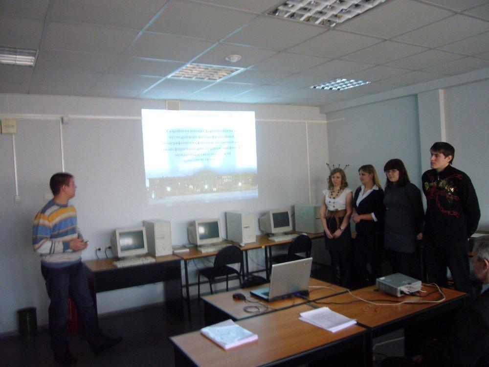 Защита проектов группового обучения (ГПО) накаф.СВЧиКР