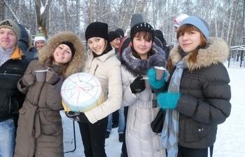 «Первый снег» дляпервокурсников ТУСУР